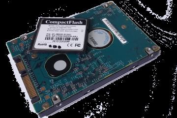 Disque dur et CompactFlash